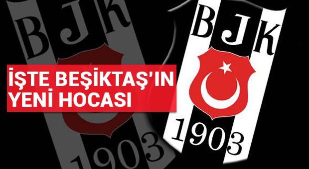 İşte Beşiktaş'ın yeni hocası!