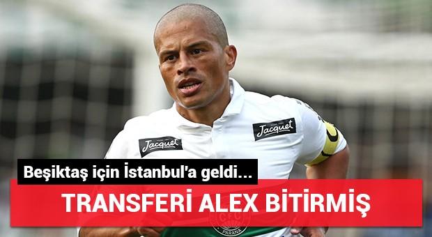 Beşiktaş'ın transferini Alex bitirmiş...