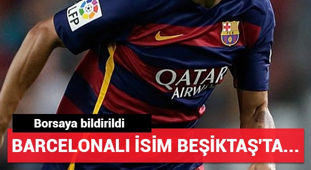 Barcelonalı isim Beşiktaş'ta...