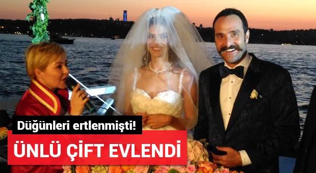 Eda Özerkan ve Timur Acar çifti evlendi!