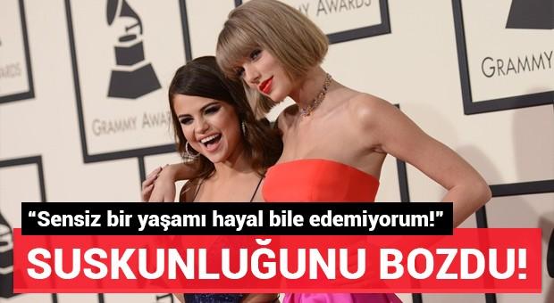 Taylor Swift'ten Selana Gomez'li poz!