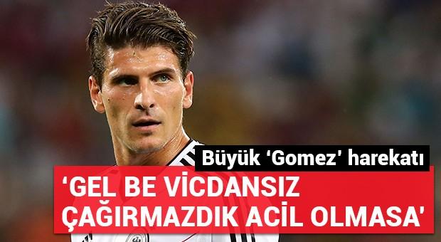 Beşiktaş taraftarından büyük Gomez harekatı!