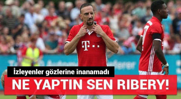 Ne yaptın sen Ribery!
