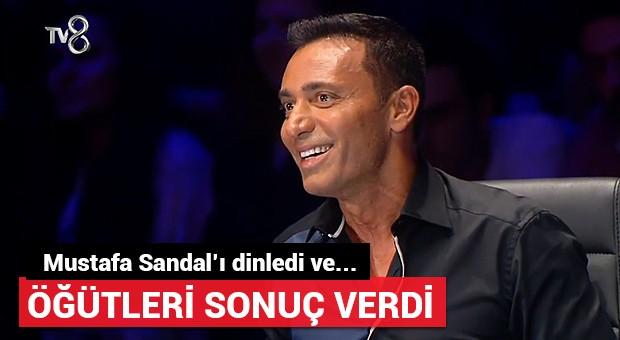 Mustafa Sandal'ın öğütlerini dinledi ve...