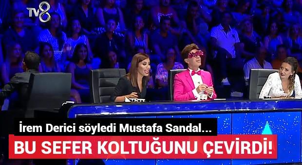 Mustafa Sandal bu kez İrem Derici için döndü!