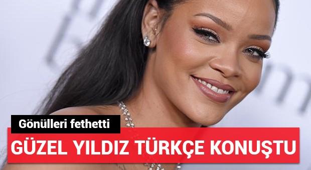 Rihanna, Türkçe konuştu!