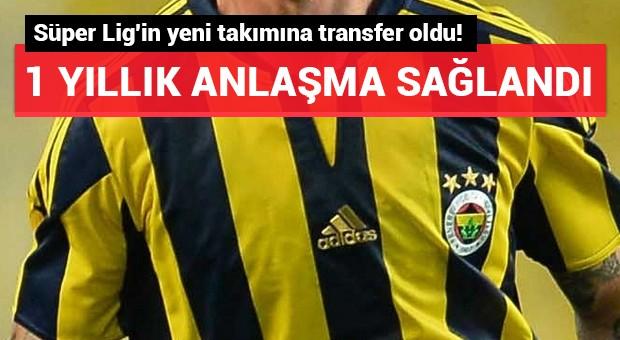 Süper Lig'in yeni takımına transfer oldu!