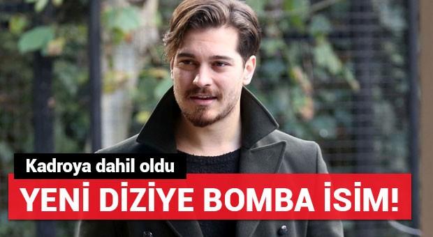 Çağatay Ulusoy'un yeni dizisine bomba isim!