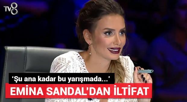 Emina Sandal yarışmacıyı böyle övdü! 'Bugüne kadar...'