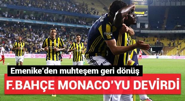 Fenerbahçe, Monaco'yu ezdi geçti!
