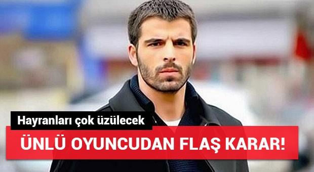 Mehmet Akif Alakurt'tan flaş karar