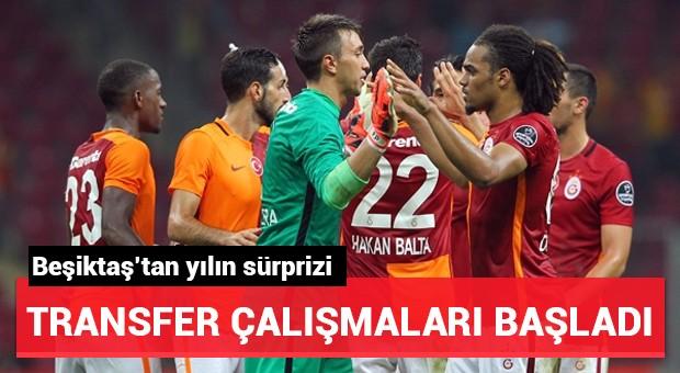 Beşiktaş'tan yılın sürprizi