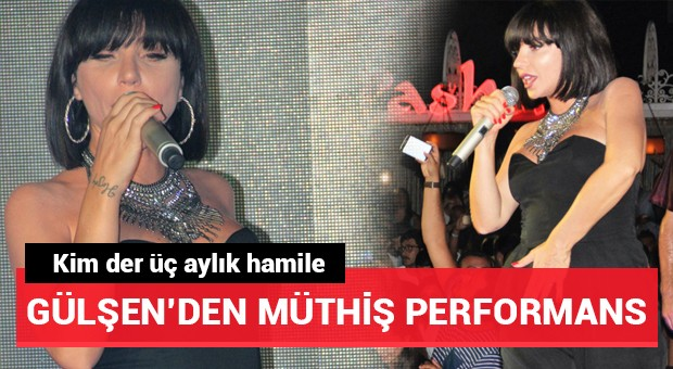 Gülşen Bodrum'da konser verdi