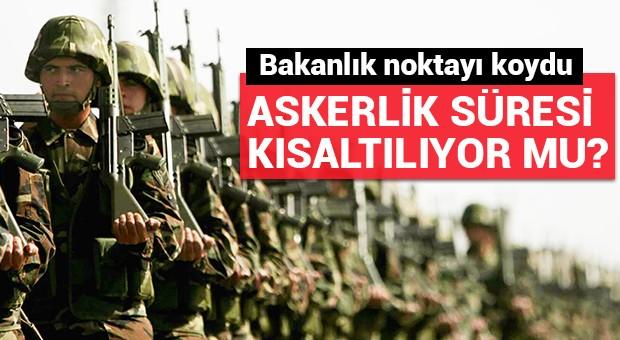 Milli Savunma Bakanlığı'ndan 'askerlik' açıklaması!
