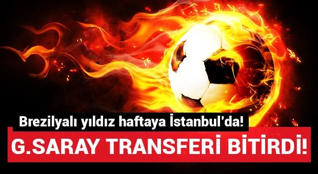 Galatasaray'ın yeni transferi haftaya geliyor!