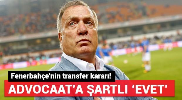 Fenerbahçe'nin transfer kararı!