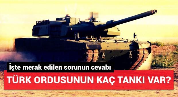 Türk Silahlı Kuvvetleri'nin elindeki askeri araçlar...