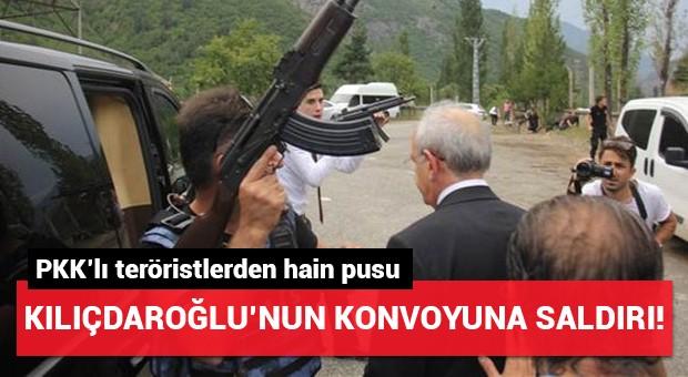 Kılıçaroğlu'nun konvoyuna silahlı saldırı!