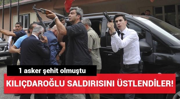 Kılıçdaroğlu'na yapılan saldırıyı o örgüt üstlendi!