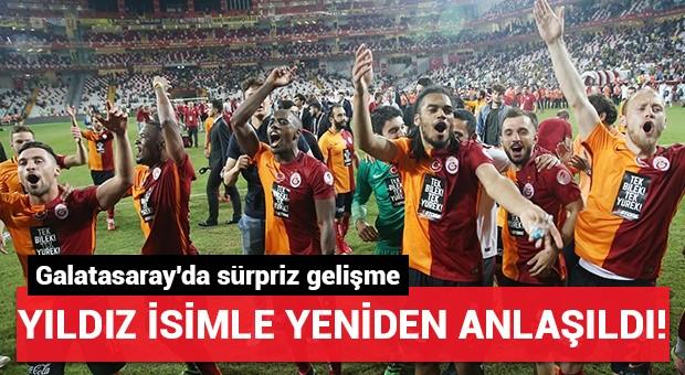 Galatasaray yıldız isimle yeniden anlaştı...