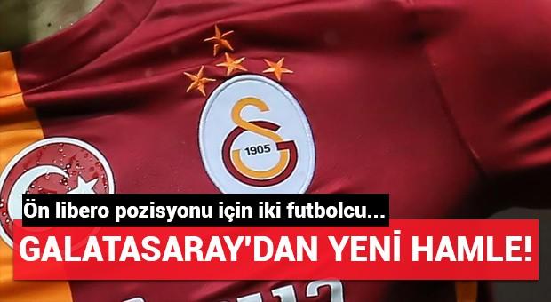Galatasaray'dan yeni hamle! Ön libero pozisyonu için iki futbolcu...