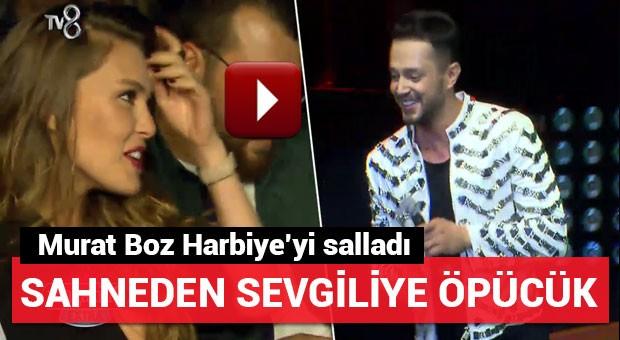 Murat Boz Harbiye'yi salladı
