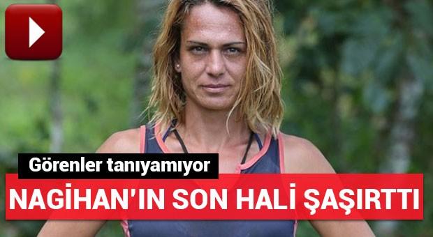 Survivor Nagihan'dan yeni imaj! Görenler tanıyamıyor