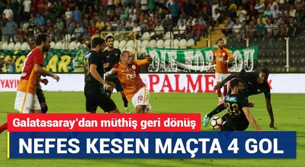 Akhisar Belediyespor 1-3 Galatasaray | Süper Lig Maç Sonucu