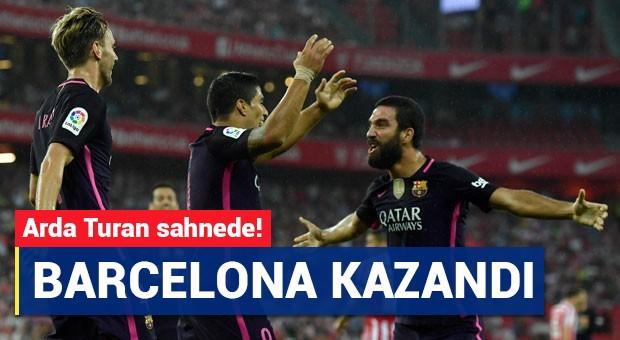 Barcelona'da kazandı! Arda Turan sahnede