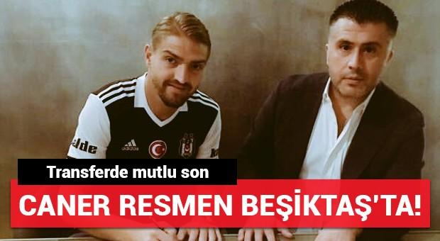 Caner Erkin resmen Beşiktaş'ta! Transferde mutlu son...