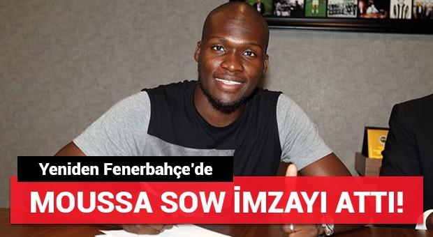 Moussa Sow imzayı attı! Yeniden Fenerbahçe'de...