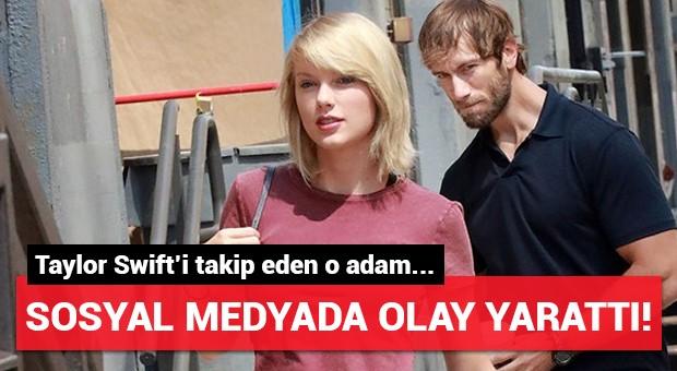 Taylor Swift'i sokakta takip eden adam olay oldu