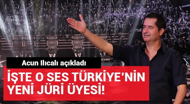 O Ses Türkiye'nin yeni jüri üyesi belli oldu