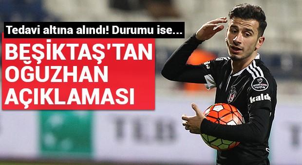 Beşiktaş'tan 'Oğuzhan' açıklaması!