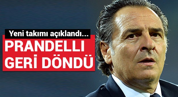 Prandelli yeni takımı...