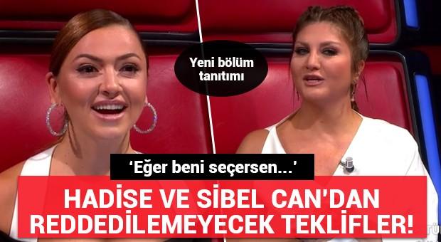 Hadise ve Sibel Can'dan reddedilemeyecek teklifler! O Ses Türkiye 10. bölüm tanıtımı