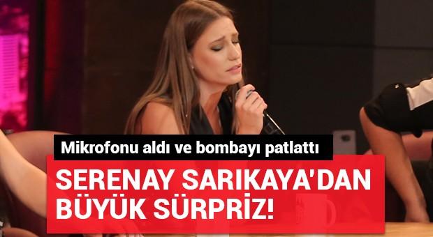 Serenay Sarıkaya'dan büyük sürpriz!