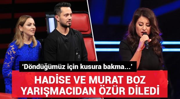 Murat Boz ve Hadise o isimden özür diledi!