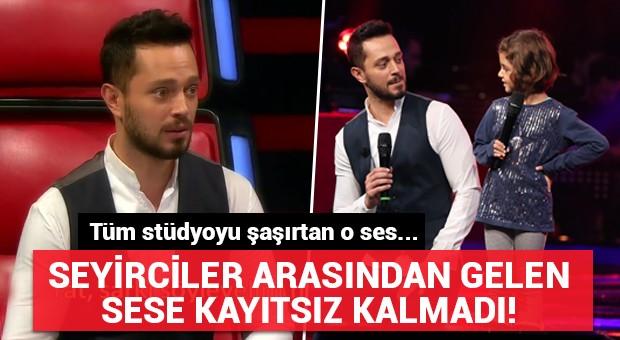 Murat Boz seyirciler arasından gelen sese kayıtsız kalmadı!