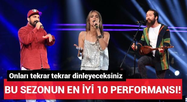 O Ses Türkiye'de bu sezonun en iyi 10 performansı!