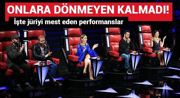 O Ses Türkiye'ye damga vuran performanslar