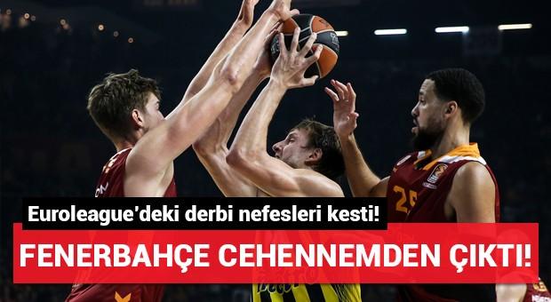 Euroleague derbisinin galibi Fenerbahçe!