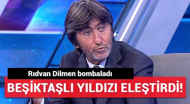 Rıdvan Dilmen'den Beşiktaşlı yıldıza eleştiri! 'Sallanıyor'