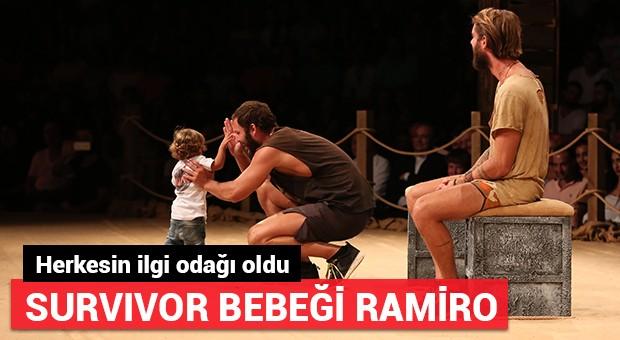 'Survivor bebeği' Ramiro herkesin ilgi odağı oldu!