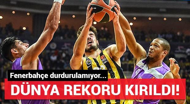 Fenerbahçe-Real Madrid maçında rekor!