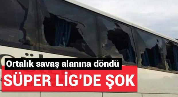 Süper Lig'de şok olay...
