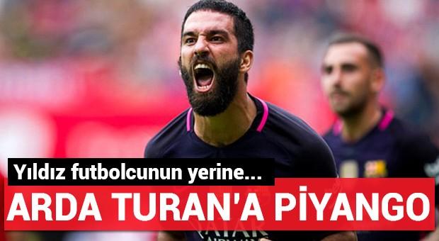 Arda Turan'a piyango...