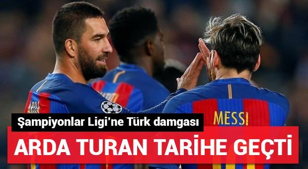 Arda Turan tarihe geçti!