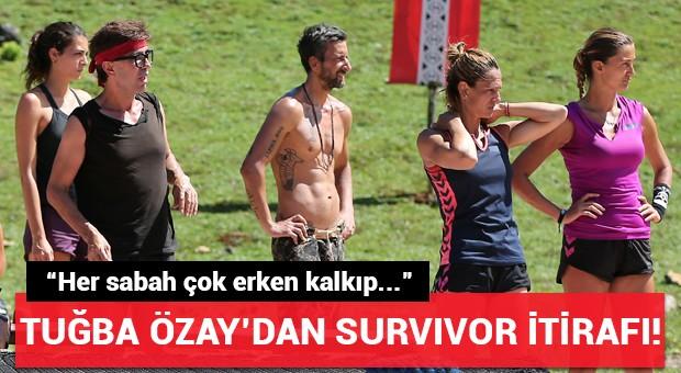 Tuğba Özay'dan Survivor itirafı!