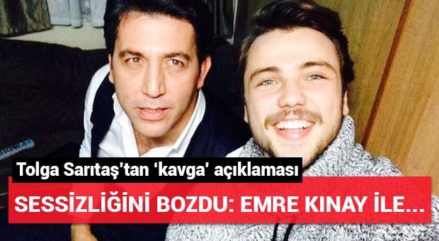 Tolga Sarıtaş'tan Emre Kınay'la kavga iddialarına açıklama